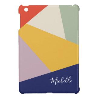 Étui iPad Mini Motif moderne géométrique | de triangles