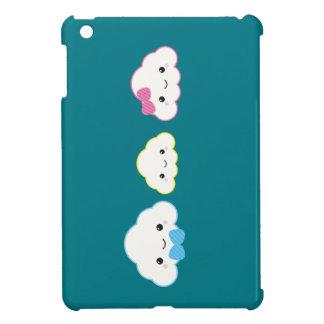 Étui iPad Mini Nuage de famille de Kawaii