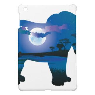 Étui iPad Mini Nuit africaine avec l'éléphant 2
