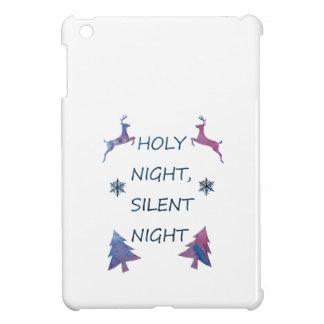 Étui iPad Mini Nuit sainte, nuit silencieuse