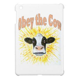 Étui iPad Mini Obéissez la vache