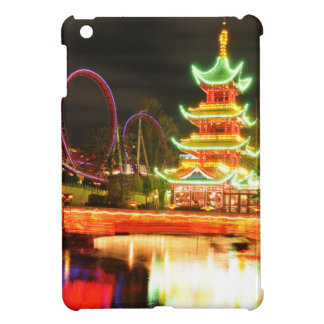 Étui iPad Mini Pagoda chinoise la nuit