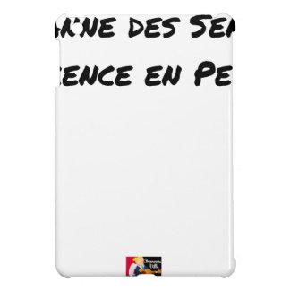 Étui iPad Mini PANNE DES SENS, DÉCENCE EN PEINE - Jeux de mots