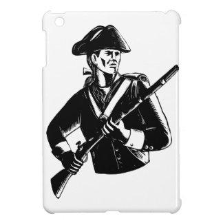 Étui iPad Mini Patriote américain Scratchboard