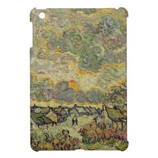 Étui iPad Mini Paysage d'automne de Vincent van Gogh |, 1890