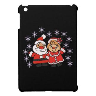 Étui iPad Mini Père Noël et Mme Claus