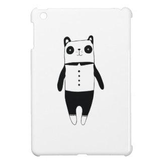 Étui iPad Mini Petit panda noir et blanc