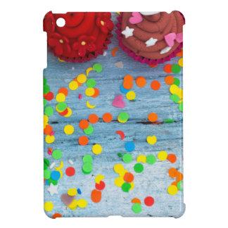 Étui iPad Mini petits gâteaux colorés
