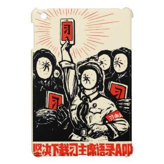 Étui iPad Mini Peu de $$etAPP rouge par la couverture d'iPad de