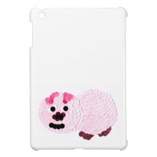 Étui iPad Mini Porc rose