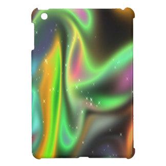 Étui iPad Mini Remous au néon psychédéliques de couleur