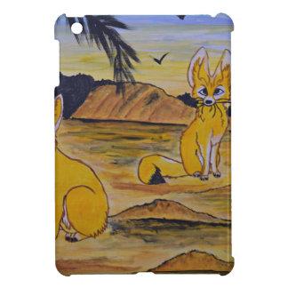Étui iPad Mini Renards de Fennec dans le désert