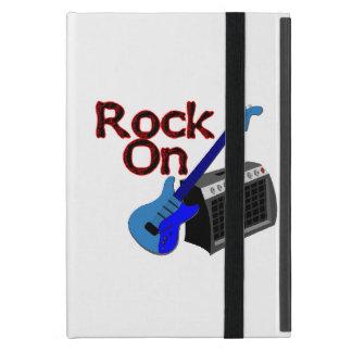 Étui iPad Mini Roche sur la guitare et l'ampère