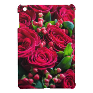Étui iPad Mini Roses rouges