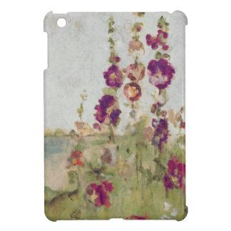 Étui iPad Mini Roses trémière par la mer