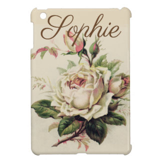 Étui iPad Mini Roses vintages/victoriens Personnalised