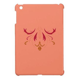 Étui iPad Mini Rouge beige de mandala de CONCEPTION