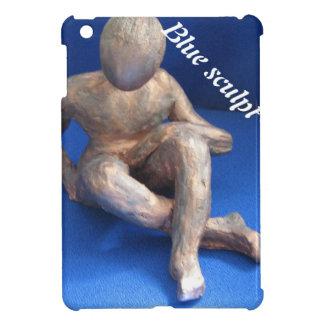 Étui iPad Mini sculpture raku homme