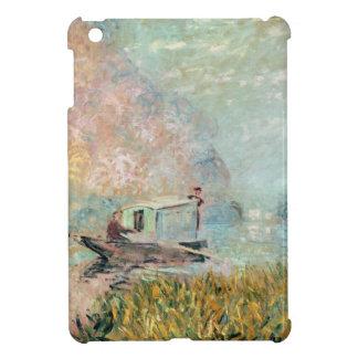 Étui iPad Mini Studio de bateau de Claude Monet | sur la Seine