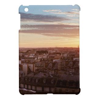 Étui iPad Mini Sunset on the Eiffel tower, Paris, France