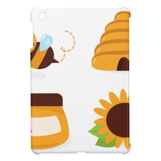 Étui iPad Mini T-shirts avec la petites abeille et substance
