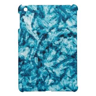 Étui iPad Mini texture approximative bleue