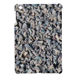 Étui iPad Mini texture grise de gravier