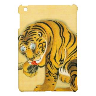 Étui iPad Mini Tigre dans la neige