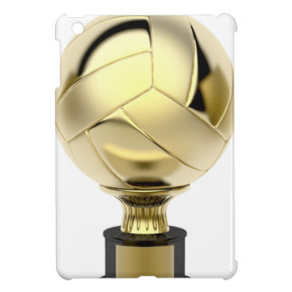 Étui iPad Mini Trophée de volleyball d'or