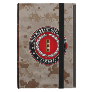 Étui iPad Mini U.S. Marines : Garantie en chef deux (usmc CWO-2)