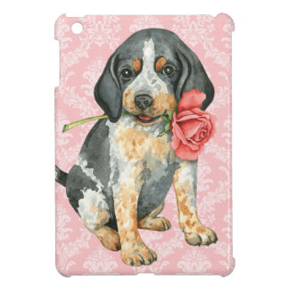 Étui iPad Mini Valentine Bluetick rose
