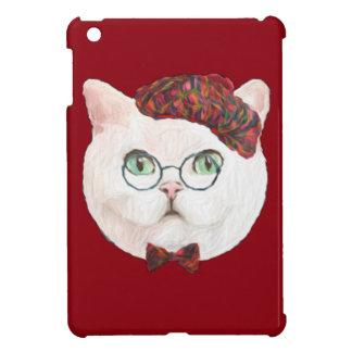 Étui iPad Mini Verres de fantaisie de cravate d'arc de casquette