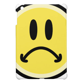 Étui iPad Mini Visage triste