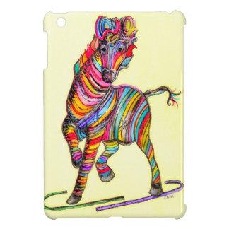 Étui iPad Mini Zèbre multicolore