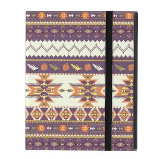 Étui iPad Motif aztèque coloré