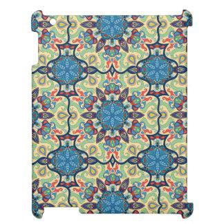 Étui iPad Motif floral ethnique abstrait coloré De de