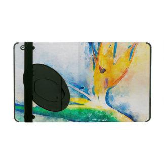 Étui iPad Oiseau d'art d'aquarelle de paradis