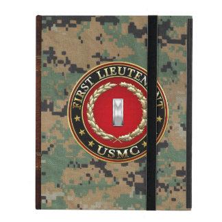 Étui iPad U.S. Marines : Premier lieutenant (usmc 1stLt)