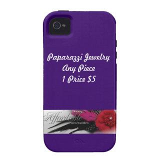 Étui iPhone 4/4S Caisse de bijoux de paparazzi pour l'iPhone 4/4S