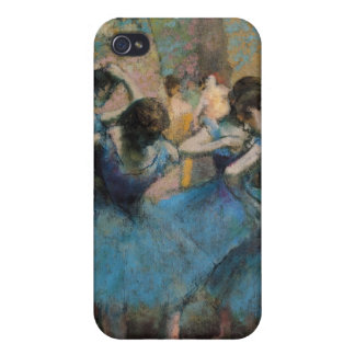 Étui iPhone 4/4S Danseurs d'Edgar Degas | dans le bleu, 1890