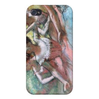 Étui iPhone 4/4S Edgar Degas | quatre ballerines sur l'étape
