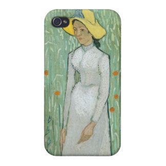 Étui iPhone 4/4S Fille de Vincent van Gogh | dans le blanc, 1890
