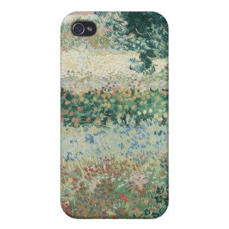 Étui iPhone 4/4S Jardin de Vincent van Gogh | en fleur, Arles, 1888
