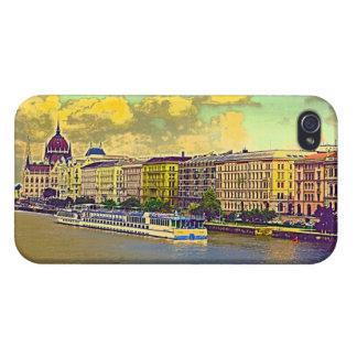 Étui iPhone 4/4S Peinture hongroise du Parlement
