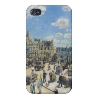 Étui iPhone 4/4S Pierre un Renoir | Pont Neuf, Paris