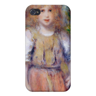 Étui iPhone 4/4S Pierre une fille gitane de Renoir |