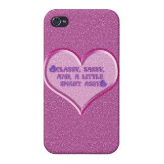 Étui iPhone 4 Coeur impertinent
