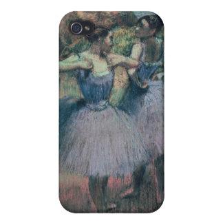 Étui iPhone 4 Danseurs d'Edgar Degas | dans la violette