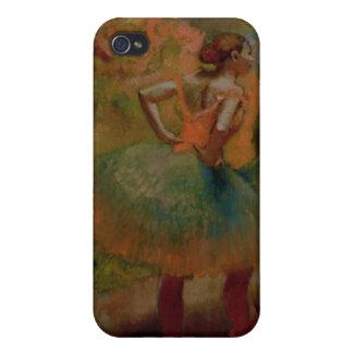 Étui iPhone 4 Danseurs d'Edgar Degas | utilisant des jupes de