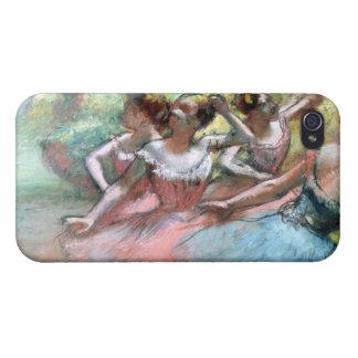 Étui iPhone 4 Edgar Degas | quatre ballerines sur l'étape